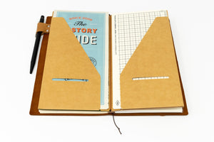 Traveler's Notebook Refill #020: Kraft Paper Folder, Regular SizeTraveler's Company