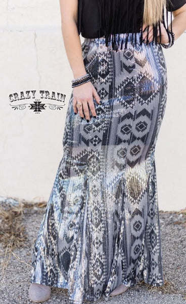 The Westward Wonder - sequin maxi