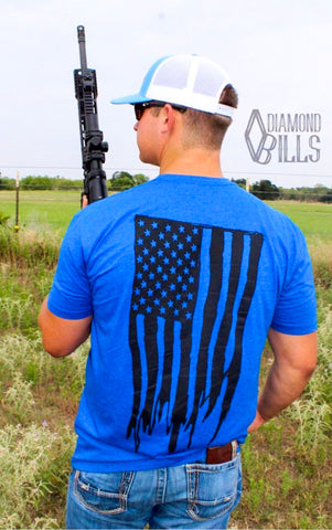 The Rugged American - Royal Blue