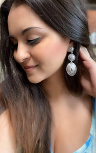 The Savanah Three Tier Concho Earrings