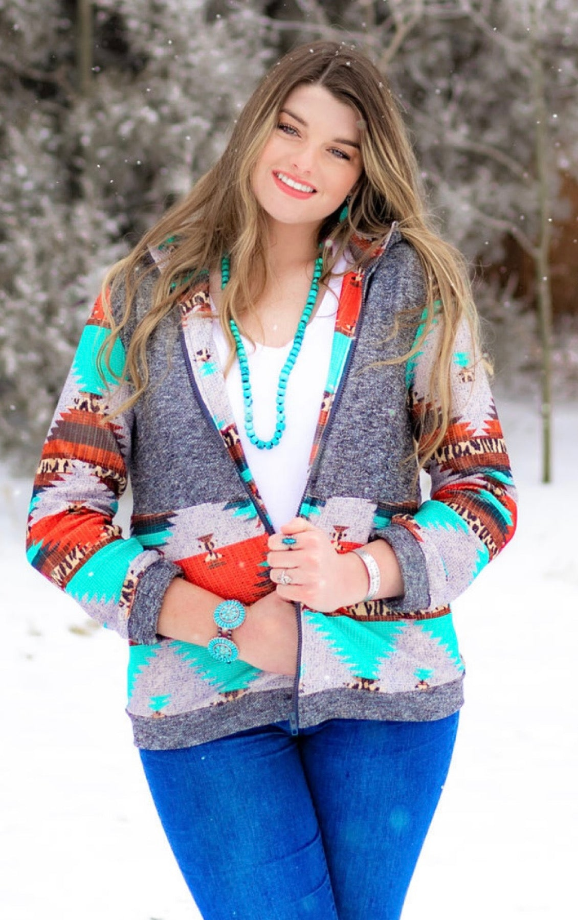 The Safford - Aztec Jacket