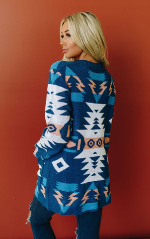The Azteca Cardigan READY TO SHIP