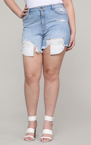 The Mom Shorts - Plus size