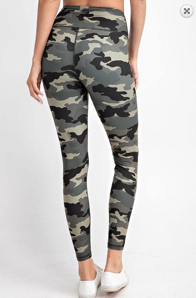 The Alpha - camo leggings