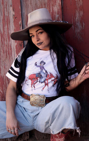 The Cowgirl - unisex tee