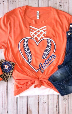 The Heart Astros tee
