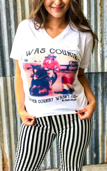 The Country When Country Wasn't Cool Tee