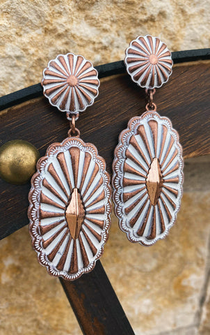 The Autumn Concho Earrings