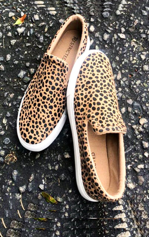 The Kitty Gal - cheetah sneakers