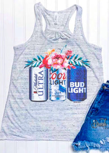 The Beer Gal - tank READY TO SHIP 5/31