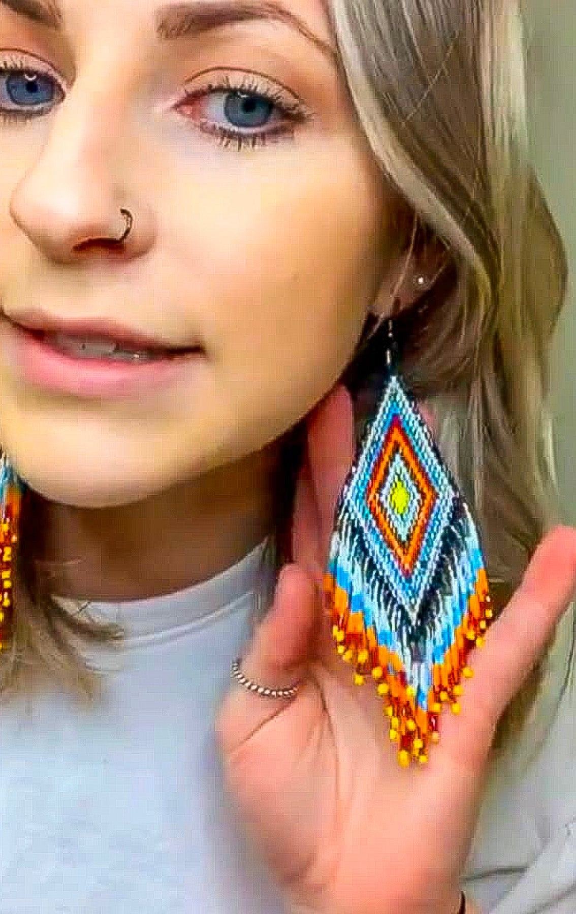 The Cimarron - earrings
