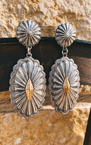 The Summer Concho Earrings