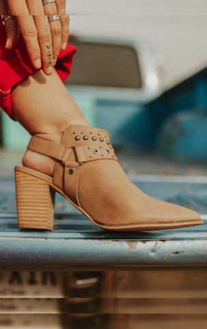 The Thunderbird - studded booties