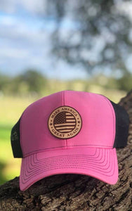 Make America Great Again snap back - Pink - ready to ship now