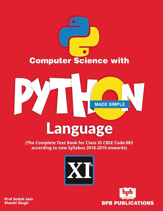 Computer Science with Python Language Made Simple- India's First Python Book With free Video Course