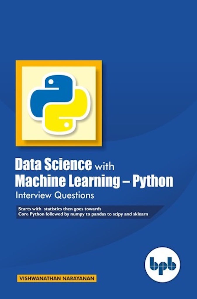 Data Science with Machine Learning  -Python Interview Questions