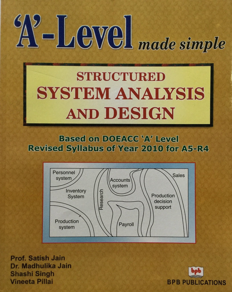 Structured System Analysis and Design By Jain S, Jain M, Singh S, Pillai V.