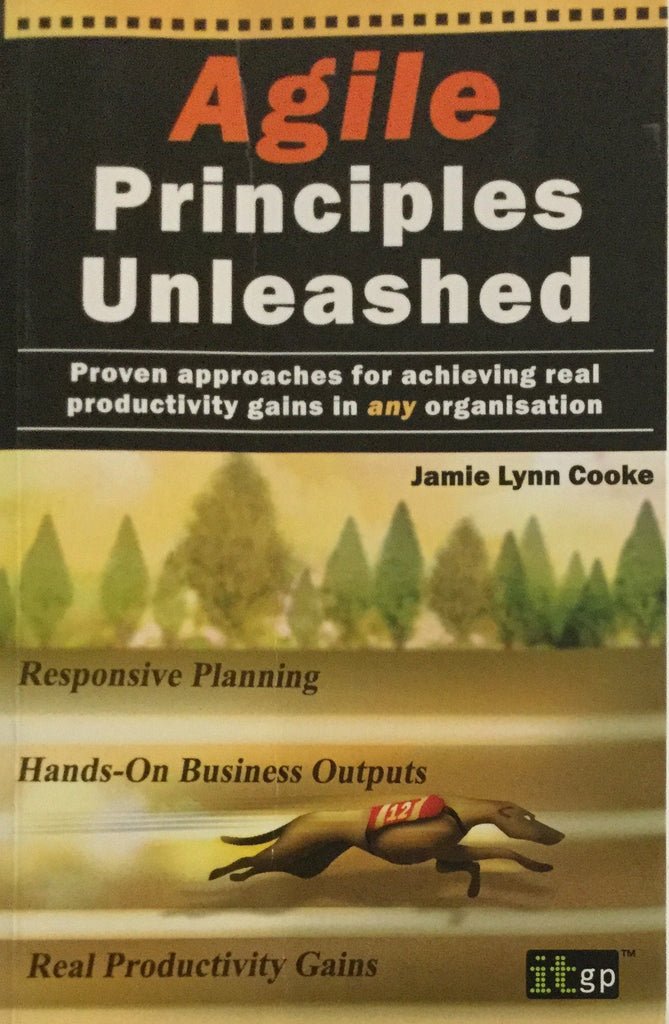 Agile Principles Unleashed (Proven approaches for achieving real productivity gains in any organization)  by Jamie Lynn Cooke