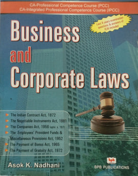 Business and Corporate Laws By Asok K. Nadhani