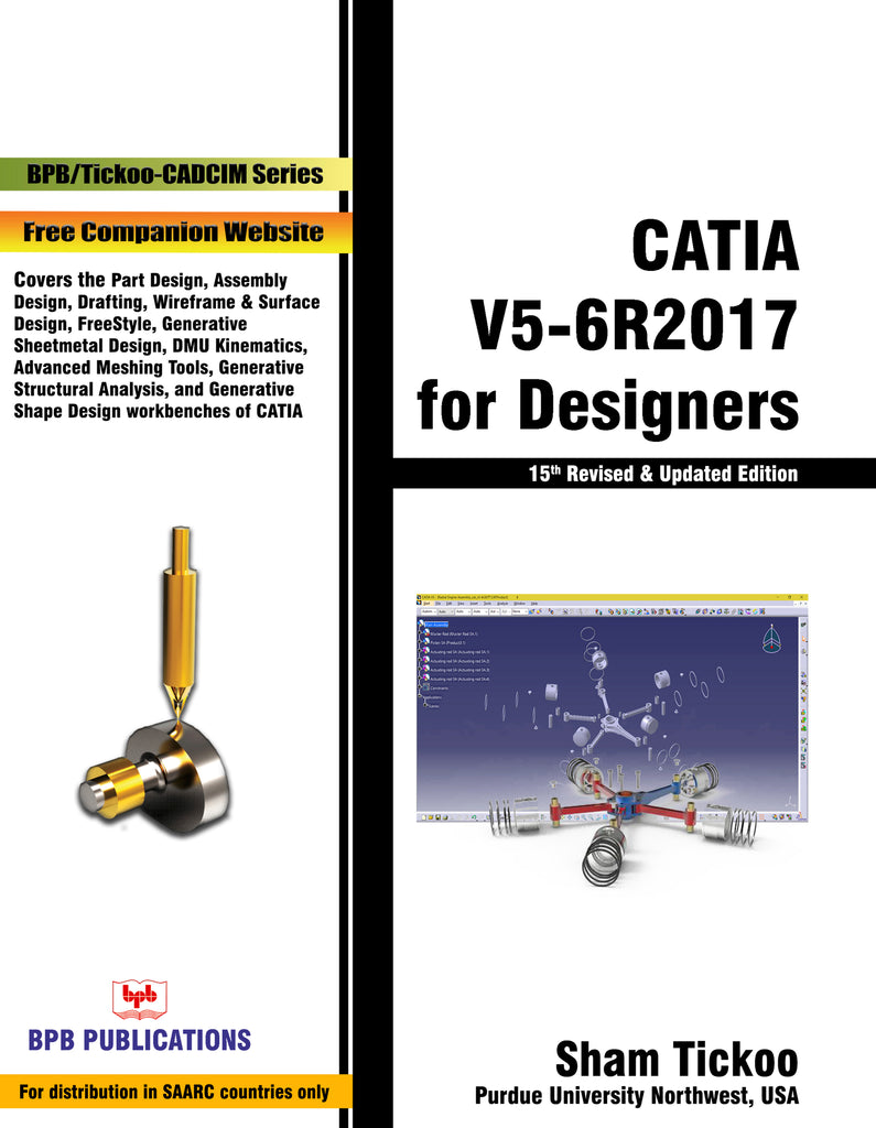 CATIA V5-6R2017 for Designers 15th Revised Edition