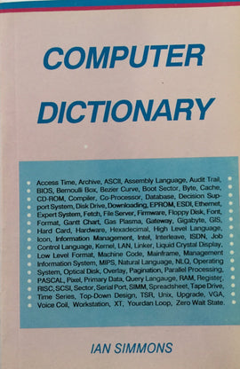 Computer Dictionary By IAN Simmons