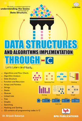 Data Structures and Algorithms Implementation Through C- Let's Learn and Apply