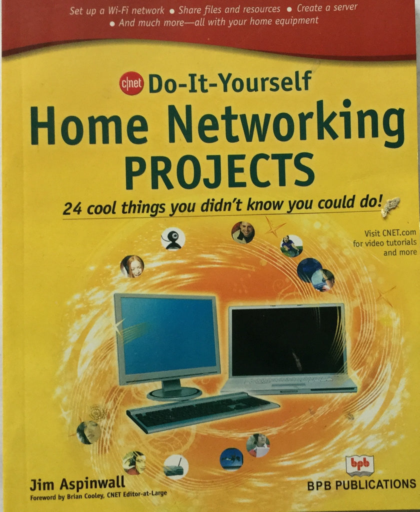 Do it yourself home networking projects by jim aspinwall bpb do it yourself home networking projects by jim aspinwall solutioingenieria Image collections