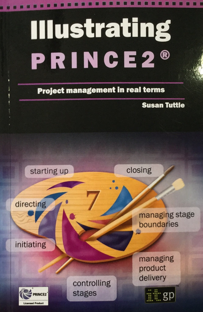 Illustrating Prince 2 Project management In Real Terms By Susan Tuttle