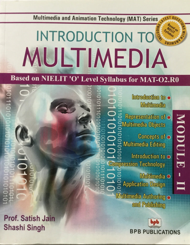 Introduction To Multimedia (MAT-02) By Prof. Satish jain