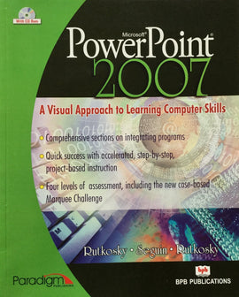 Power Point 2007 A Visual Approach To Learning Computer Skills By Rutkosky . Seguin . Rutkosky