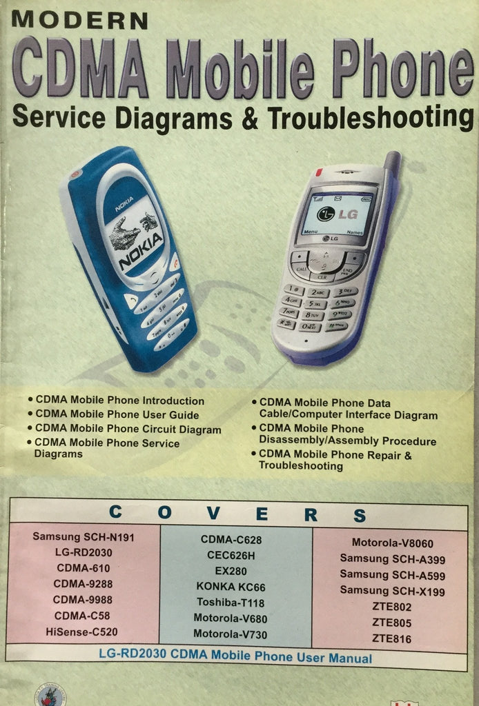Modern CDMA Mobile Phone Service Diagram & Troubleshooting by Manahar Lotia