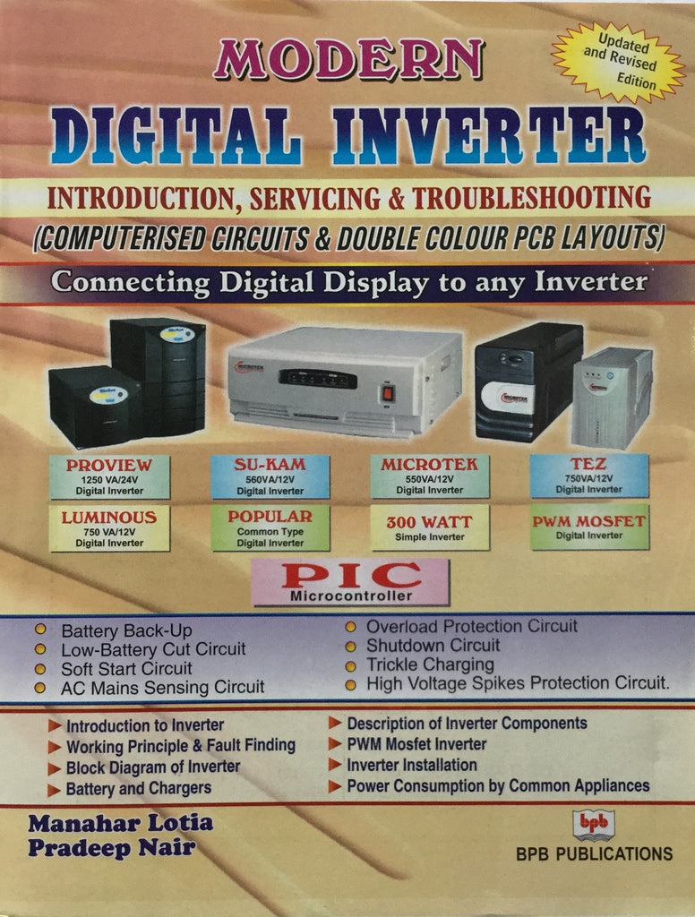 Modern Digital Inverter Introduction Servicing & Troubleshooting by Manahar Lotia