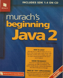 Murach's Beginning Java 2 By Andrea Steelman