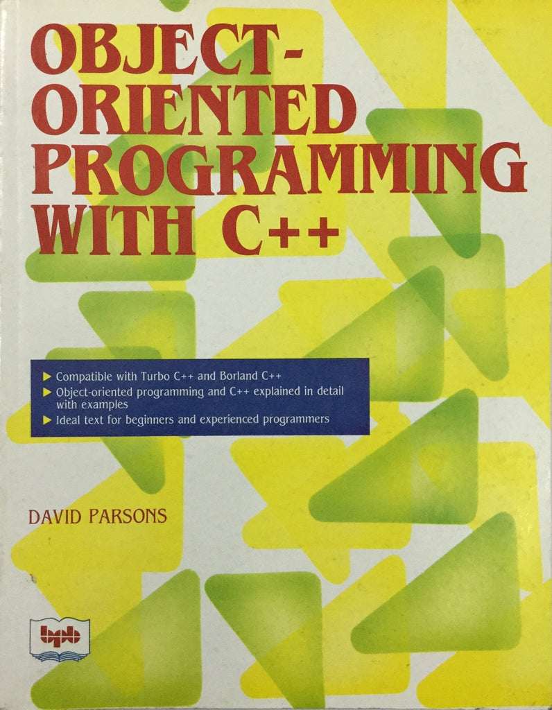 Object Oriented Programming with C++ by David Parsons