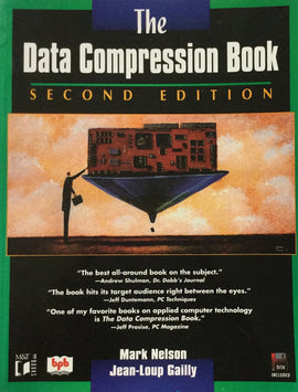 The Data Compression Book 2nd Edition By Mark Nelson, Jean- Loup Gailly