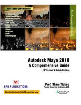 AUTODESK MAYA 2018 : A COMPREHENSIVE GUIDE