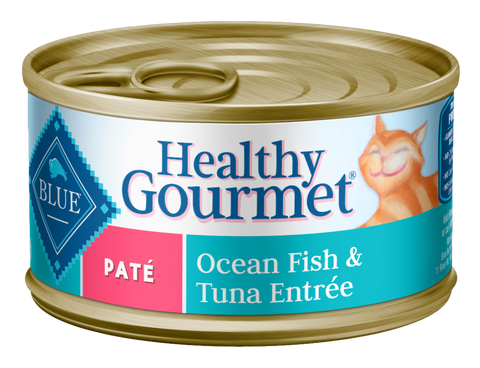 Blue Buffalo Healthy Gourmet Adult Ocean Fish and Tuna Entree Canned Cat Food