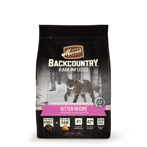 Merrick Backcountry Grain Free Kitten Recipe Dry Cat Food