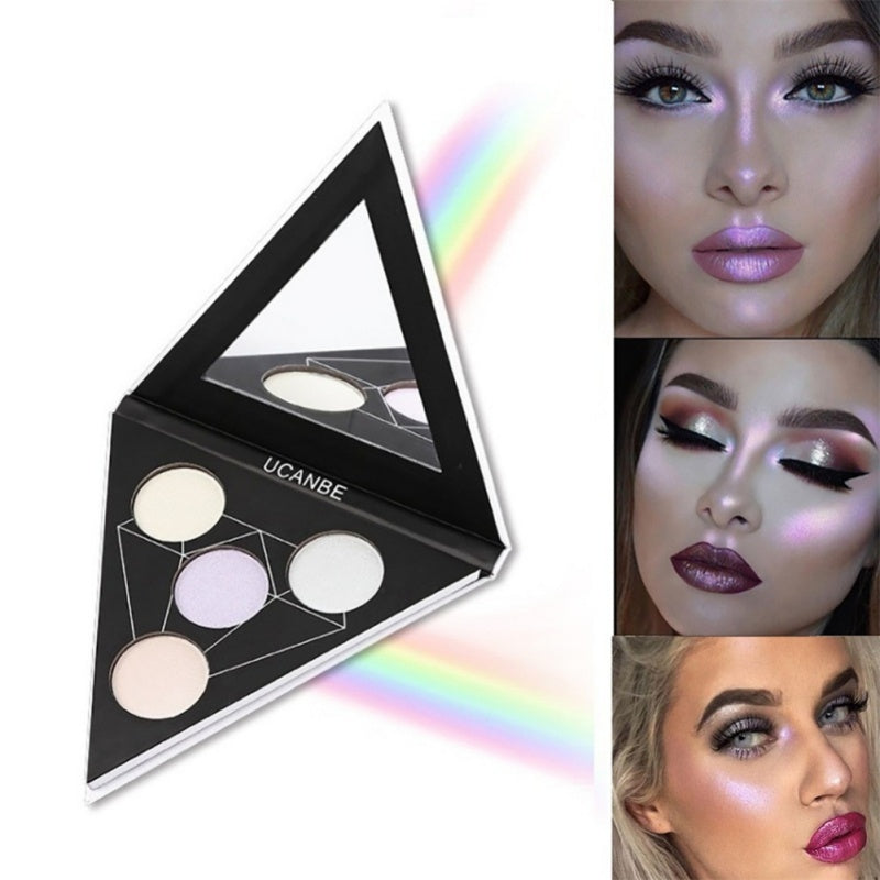 Triangle Love Shimmer Powder Eye Shadow