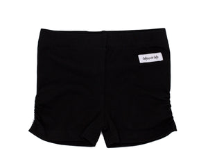 Black Ava Ruched Undershorties