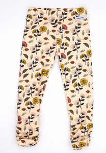Fall Floral Ava Ruched Leggings