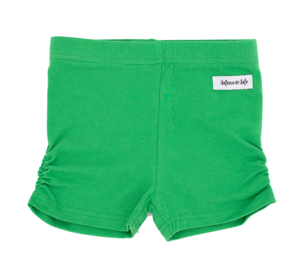 Grass Green Ava Ruched Undershorties