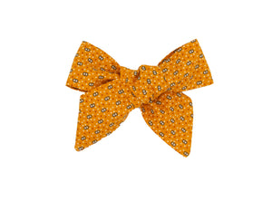 Halloween Handmade Fabric Bow -- Love, Nana