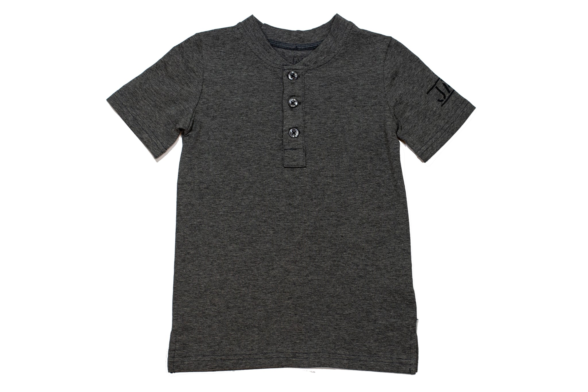 JAX Heather Gray Henley