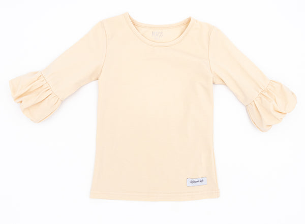 Ivory Polly Puffer Tee