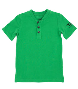 JAX GRASS GREEN HENLEY