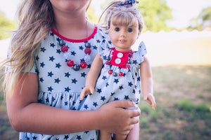 Perfectly Patriotic STYLED Set for DOLLS
