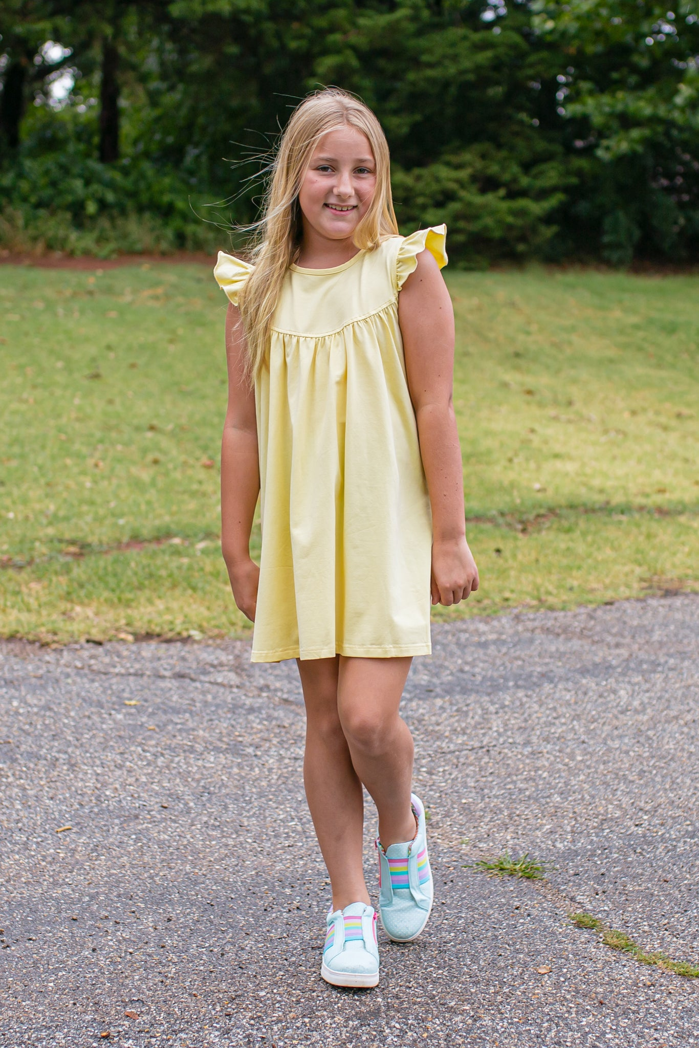 Buttercup Pretty Pearl Dress