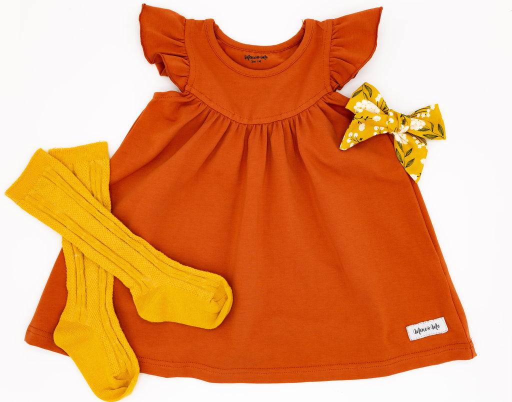 Pumpkin Pretty Pearl Dress