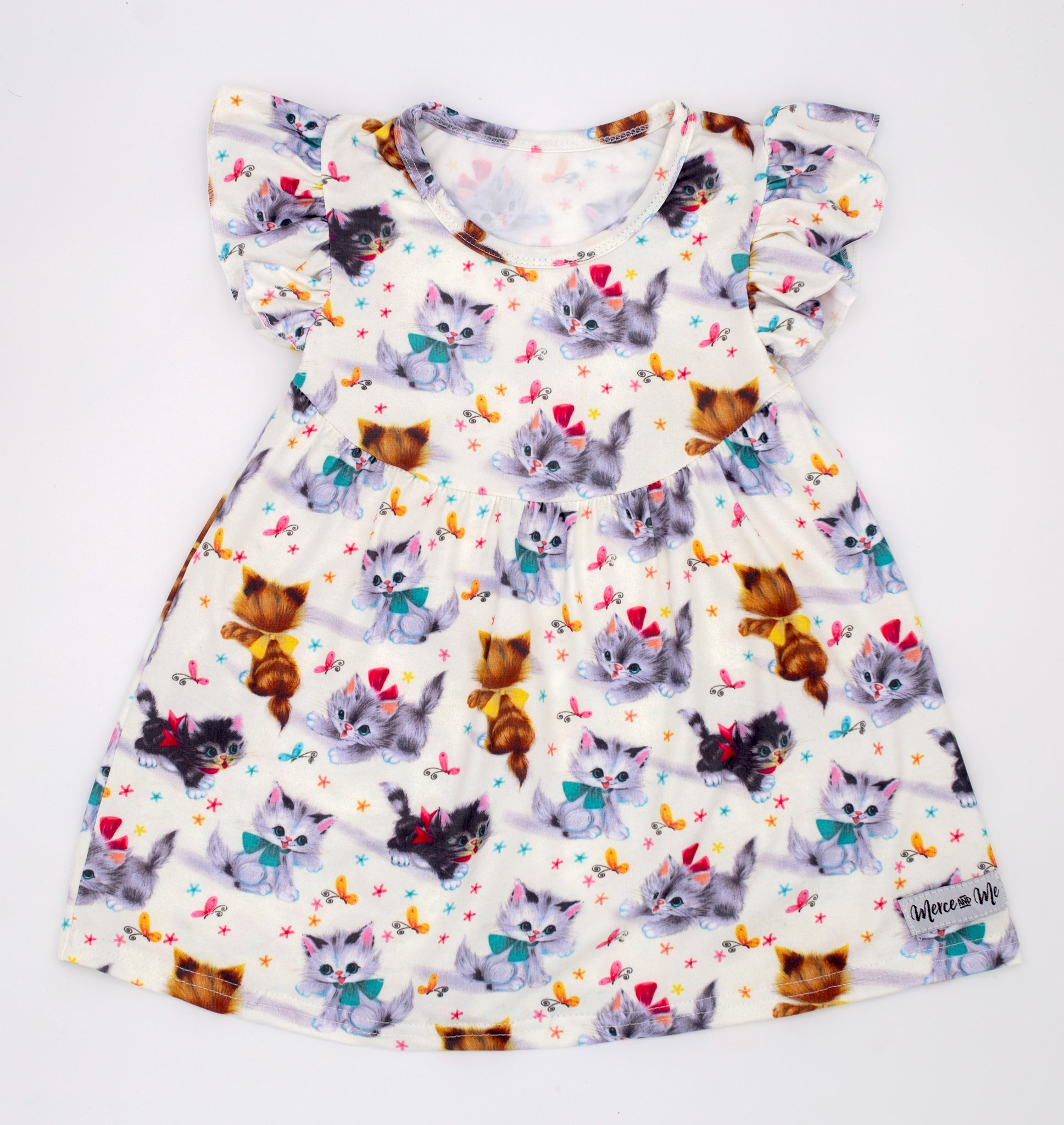 Vintage Kitties Dress